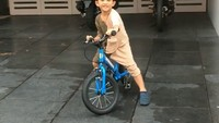 <p>Bagaimana, Bunda juga tertarik untuk ajarkan si Kecil gunakan <em>balance bike</em> seperti Kawa? (Foto: Instagram @andienaisyah)</p>