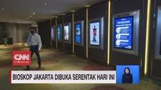 VIDEO: Bioskop Jakarta Dibuka Serentak Hari Ini
