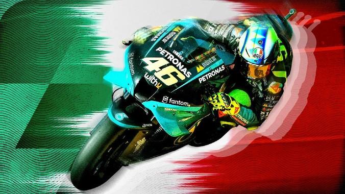 Pembalap Ducati Francesco Bagnaia memenangi MotoGP San Marino 2021 yang digelar di Sirkuit Misano, Minggu (19/9).