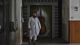 FOTO : Senyap Musik di Bawah Ketiak Taliban