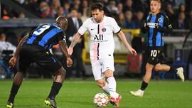 Pemain PSG Malas Bantu Messi Lawan Club Brugge