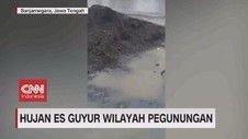 VIDEO: Hujan Es Guyur Wilayah Pegunungan