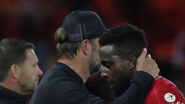 Penampilan Divock Origi saat Liverpool mengalahkan AC Milan 3-2 di fase grup Liga Champions disebut fan membuatnya menangis.