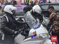 Moge Pengawal Jokowi Tersenggol Mobil Paspampres di Aceh