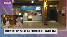 VIDEO: Hari Pertama Pembukaan Bioskop Jakarta