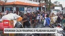 VIDEO: Kerumunan Calon Penumpang di Pelabuhan Kalianget