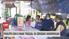 VIDEO: Pasutri & 8 Anak Tinggal di Gerobak Angkringan
