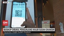VIDEO: Bioskop Dibuka, Pengunjung Wajib Sudah Divaksin