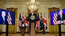 Uni Eropa Kesal Tak Diikutkan Kerja Sama AS-Inggris-Australia