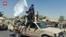 VIDEO: Pasukan Taliban Kembali ke Markas di Kandahar