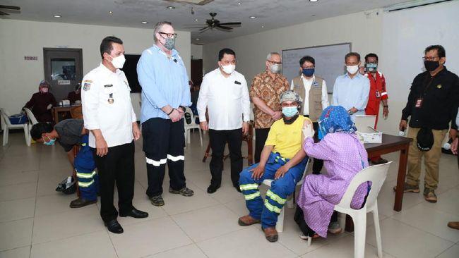 Gubernur H Ansar Ahmad berterima kasih kepada semua lapisan masyarakat Kepulauan Riau yang sudah bahu membahu menyukseskan vaksinasi.