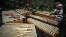 FOTO: Denting Kolintang Minahasa yang Mendunia