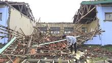 FOTO: Deretan Sekolah Ambruk di Sejumlah Daerah