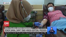 VIDEO: Donor Darah, Dapat Emas Hingga Bertemu Presiden