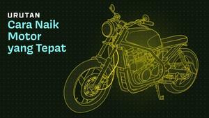 INFOGRAFIS: Urutan Cara Naik Motor yang Tepat