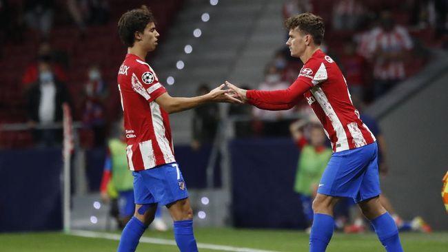 Joao Felix cekcok dengan suporter Atletico Madrid setelah diminta untuk mencederai rekan setimnya, Antoine Griezmann.