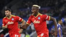 FOTO: Drama 4 Gol Leicester vs Napoli di Liga Europa