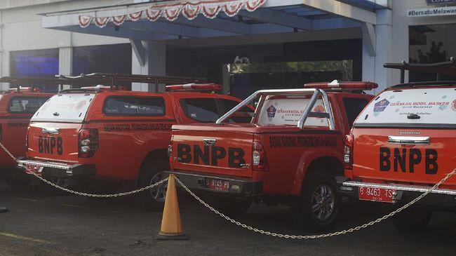 BNPB mengirim 3 juta masker untuk mendukung penguatan disiplin masker selama penyelenggaraan PON XX Papua.