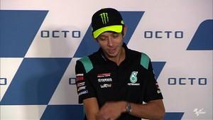 VIDEO: Rossi Sebut Dovizioso Teman Sekaligus Rival di MotoGP