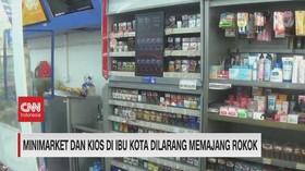 VIDEO: Minimarket & Kios Di Ibu Kota Dilarang Memajang Rokok