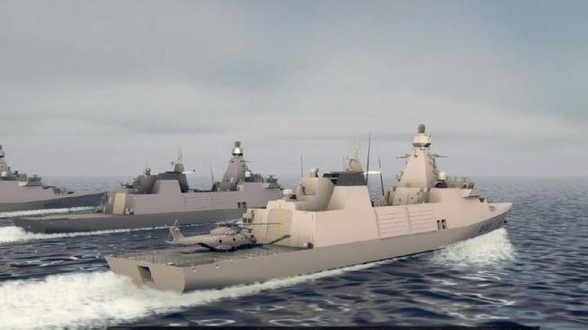Dua kapal Fregate buatan PT PAL akan dilengkapi berbagai persenjataan canggih.
