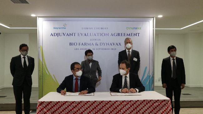 Menlu Retno menuturkan perjanjian kerja sama antara PT Bio Farma (Persero) dengan Dynavax Technologies juga telah disepakati dalam lawatannya ke AS.
