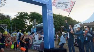 Ajang Internasional OCEANMAN 2021 Sukses Digelar di Bali