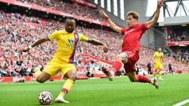 FOTO: Terkam Crystal Palace, Liverpool Puncaki Klasemen