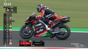 VIDEO: Vinales Agresif di Hari Pertama MotoGP San Marino