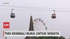 VIDEO: TMII Kembali Buka Untuk Wisata