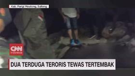 VIDEO: Dua Terduga Teroris Poso Tewas Tertembak