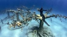 FOTO: Jelajah Taman Patung Bawah Laut Siprus