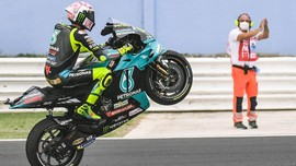 Misano Tetap Kuning Meski Rossi Finis 17 di MotoGP San Marino
