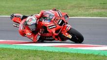 Hasil Kualifikasi MotoGP Emilia Romagna: Bagnaia Pole