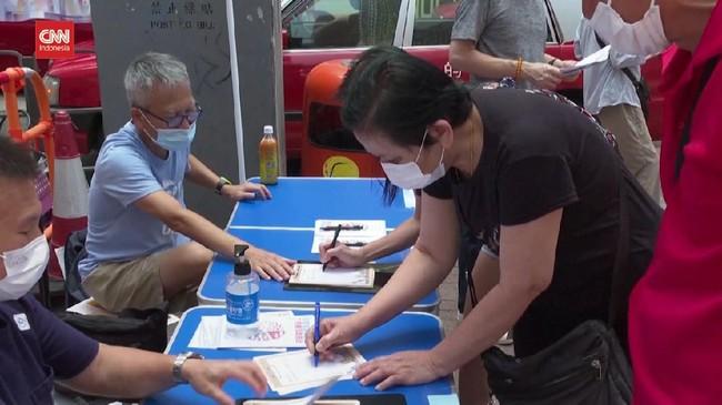 VIDEO: Hong Kong Mulai Pemilihan Calon Komite Pemilu