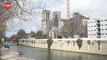 VIDEO: Katedral Notre-Dame Direncanakan Buka 2024