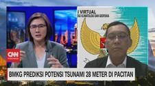 VIDEO: BMKG Prediksi Potensi Tsunami 28 Meter di Pacitan