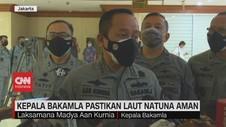 VIDEO: Kepala Bakamla Pastikan Laut Natuna Aman