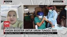 VIDEO: Vaksin Booster Untuk Umum Tunggu 2022