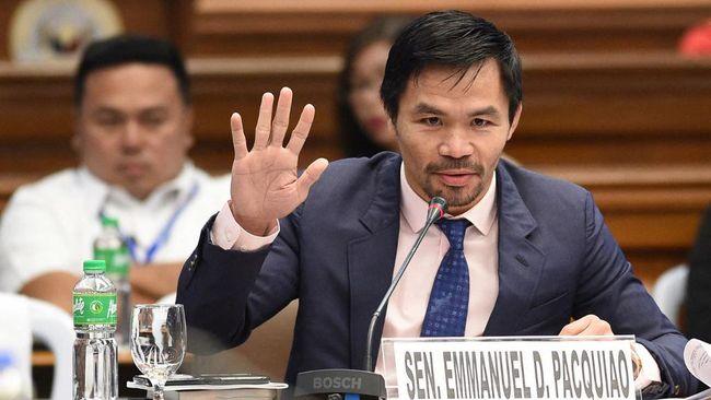 Petinju Manny Pacquiao mengumumkan pencalonannya sebagai kandidat presiden Filipina. Ia menyatakan bahwa ini saatnya kaum tertindas menang.