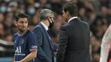 Isi Pembicaraan Pochettino dan Messi di Lapangan PSG vs Lyon