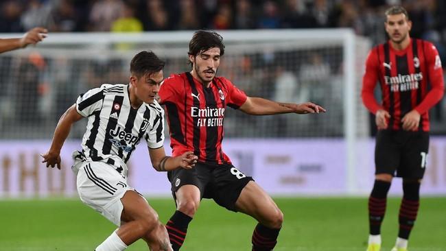 Hasil Liga Italia: Juventus dan Milan Imbang