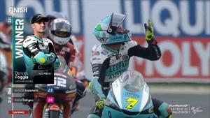 VIDEO: 3 Pembalap Italia Dominasi Moto3 San Marino