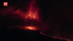VIDEO: Detik-detik Letusan Gunung Berapi di Pulau Canary