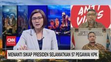 VIDEO: Menanti Sikap Presiden Selamatkan 57 Pegawai KPK
