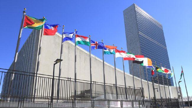 Sebuah pesawat kecil dicegat terbang ketika hendak melewati markas PBB di tengah perhelatan Sidang Majelis Umum PBB.