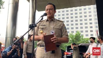 Anies di KPK: Diperiksa Terkait Pengadaan Rumah di Jakarta