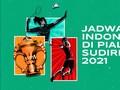 INFOGRAFIS: Jadwal Indonesia di Piala Sudirman 2021