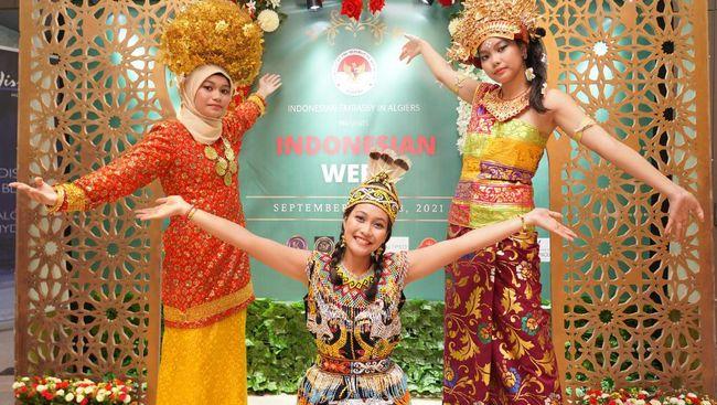 KBRI Alger menyelenggarakan 'Indonesian Week 2021' dalam rangka memperingati HUT Republik Indonesia ke-76.