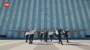 VIDEO: Aksi BTS 'Kuasai' Ruang Sidang PBB